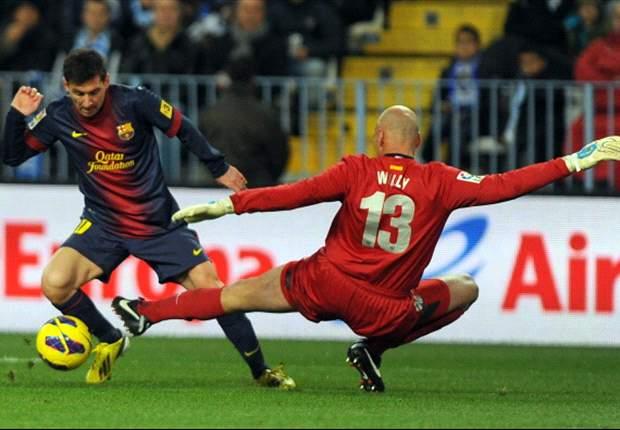 Messi, Soldado e Iniesta, en el Once Ideal de la Jornada 19