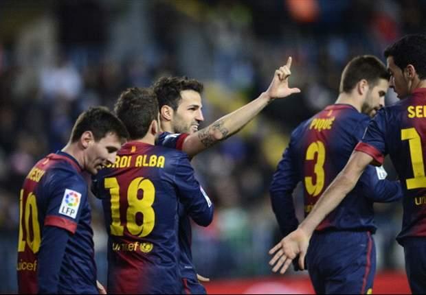 Barça op koers om '100' te passeren
