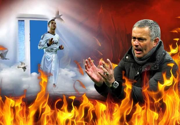 José Mourinho se quema sin su ángel Cristiano Ronaldo