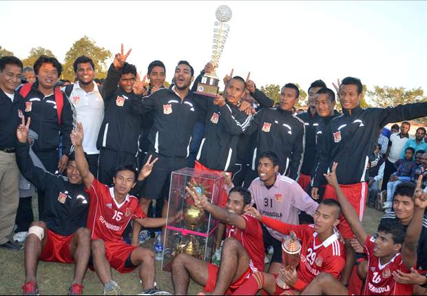 Pune FC Reserves wins All India Gold Cup