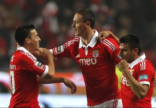 Benfica vece al Braga con gol de Salvio