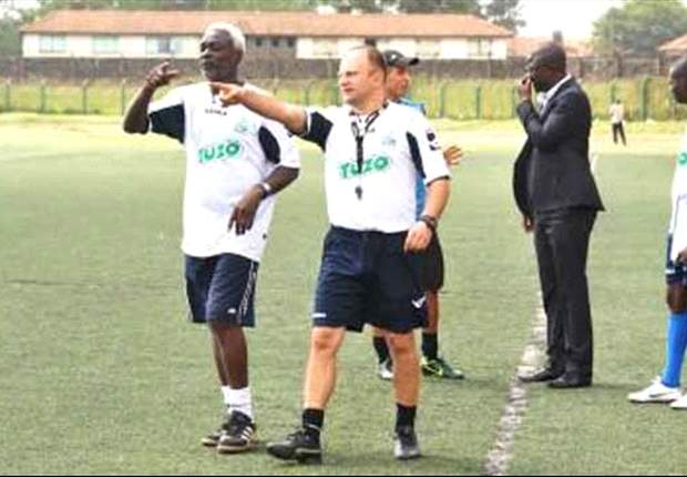 Gor Mahia coach Zdravko Logarusic steers off contract talks in first training session at City Stadium