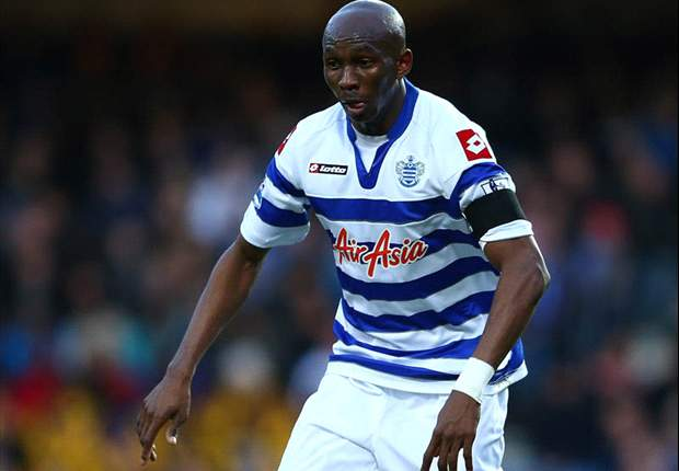 QPR fine Mbia after controversial Twitter outburst