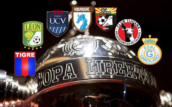 Los debutantes de la Copa Libertadores