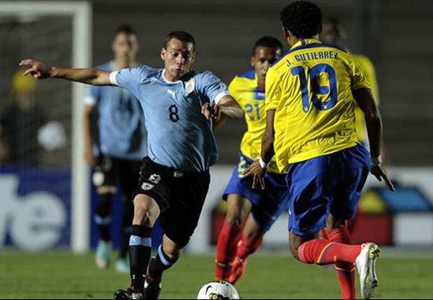 Uruguay logra un empate ante Ecuador y se mantiene líder del grupo B