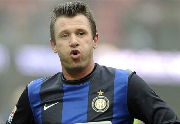 Cassano não deve enfrentar a Roma neste domingo