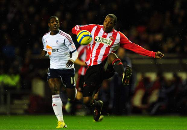Sunderland 0-2 Bolton: Sordell double shocks lackluster hosts as Holden makes return
