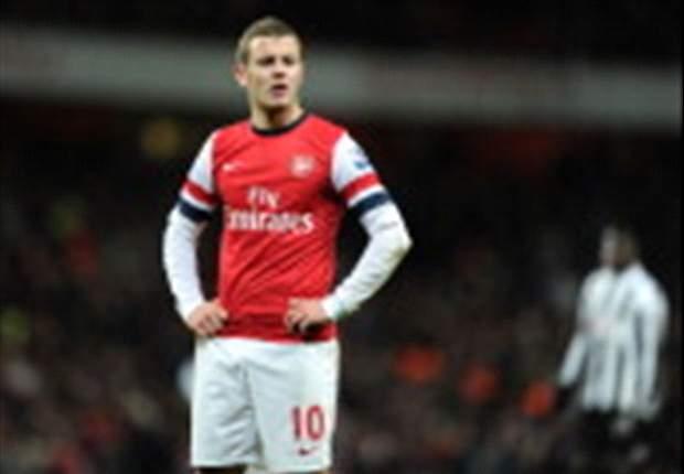 Gerrard vol lof over Wilshere
