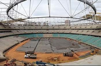 Hujan Lebat, Stadion Untuk Piala Konfederasi Kembali Rusak
