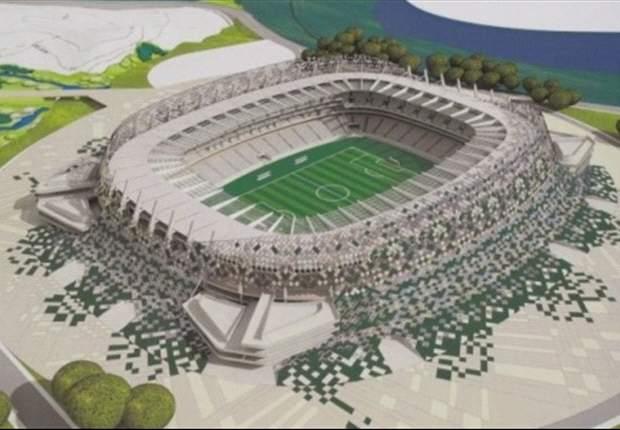 Schwer erreichbar: Arena Pernambuco