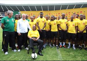 Zuma wants a look in to the senior Bafana national team, like other teenagers