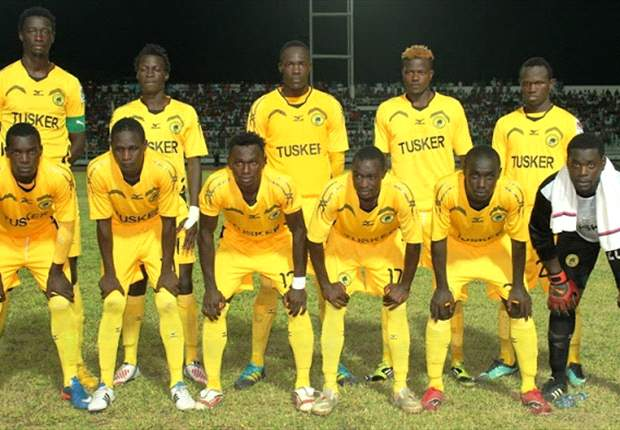 Kenya champions Tusker name Ugandan trio in squad for Champions League match