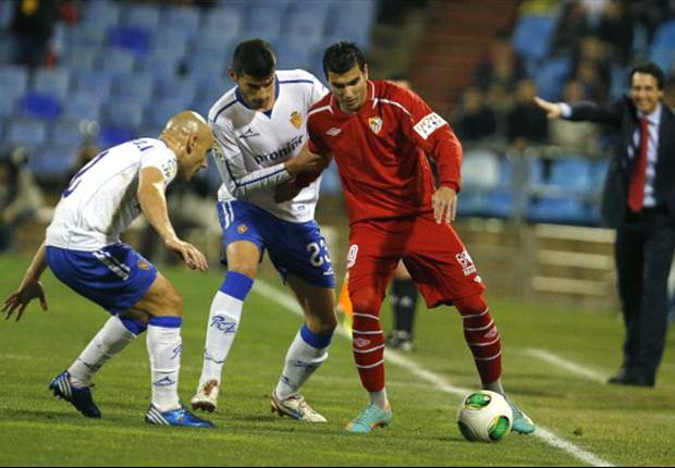Zaragoza y Sevilla no se hacen daño