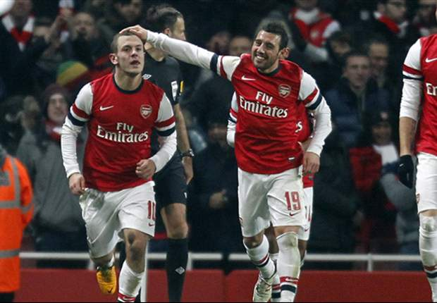 Arsenal 1-0 Swansea: Late Wilshere winner sends Gunners through