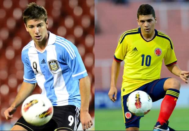 Argentina-Colombia, solo para cumplir