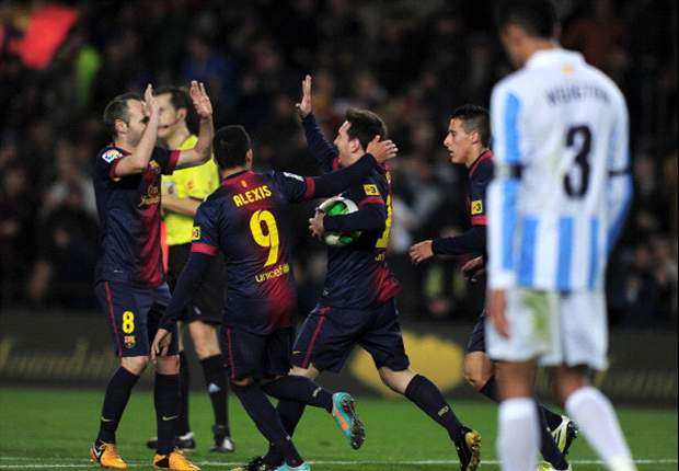 Copa del Rey: Lässt Barcelona Malaga im Rückspiel keine Chance?
