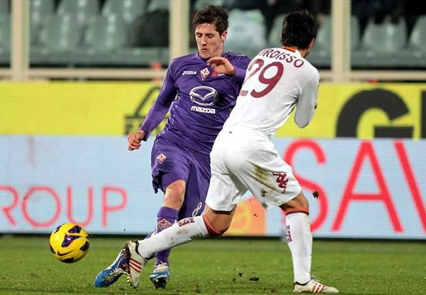 La Roma alcanzó las semifinales de la Copa Italia luego de vencer a la Fiorentina