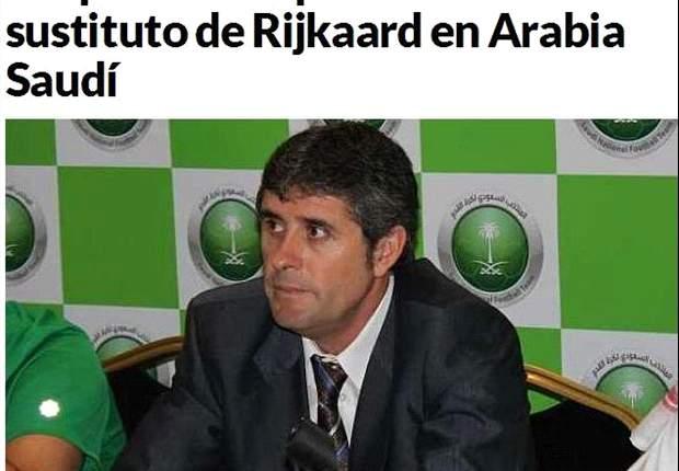 López Caro sustituye a Frank Rijkaard como seleccionador de Arabia Saudí
