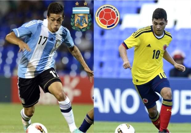 Argentina busca su pase ante Colombia