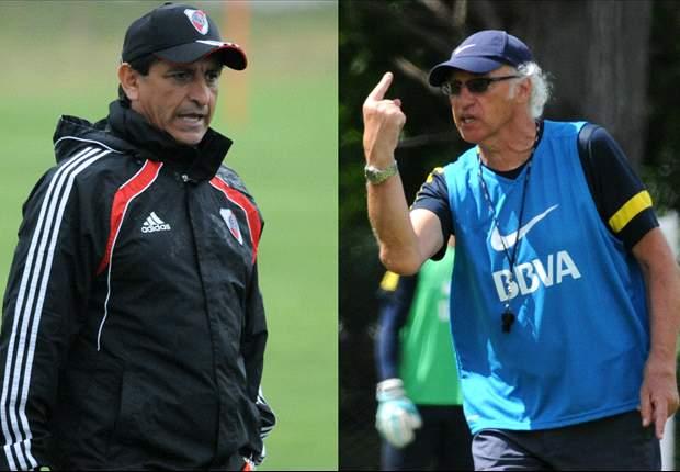 Díaz y Bianchi con todo listo