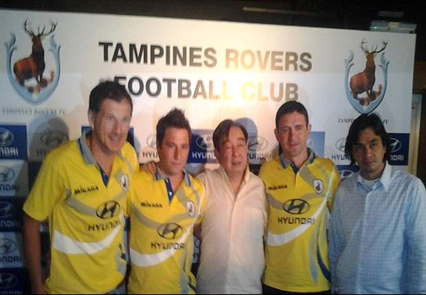 Martin Wagner unveiled as Tampines Rovers' marquee signing