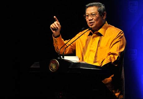 Robbie Gaspar Diskusi Sepakbola Dengan SBY