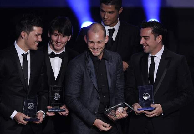 Ribery & Ronaldo deserve the Ballon d'Or - Xavi