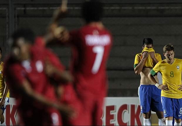 Brasil perdió con Perú y se despidió del Mundial