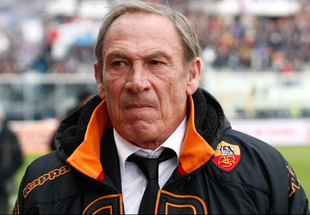Roma boss Zeman targets Champions League place