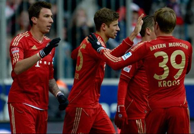 Bayern Munich 2-0 Greuther Furth: Mandzukic at the double