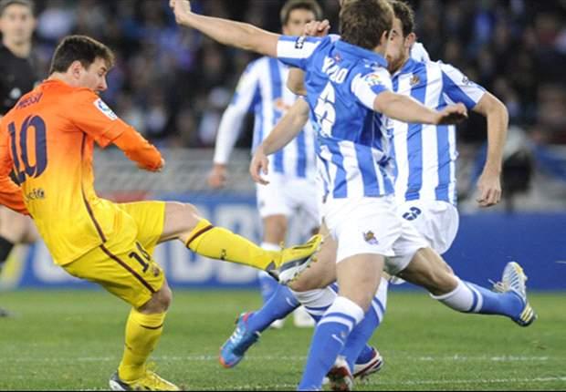 La Real Sociedad le quitó el invicto al Barcelona
