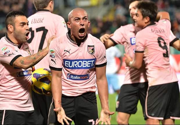 Arévalo Ríos y Dybala anotaron en el empate del Palermo