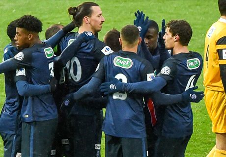 Wasquehal 0-1 PSG: Ibra strikes