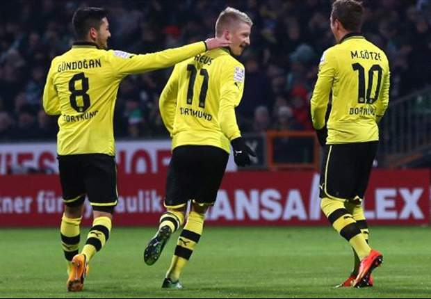 Bundesliga Team of the Week: Dortmund dominate