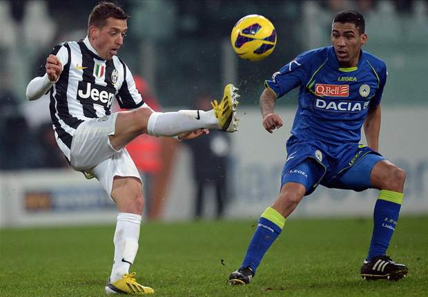 Giaccherini plays down Juventus' Scudetto hopes