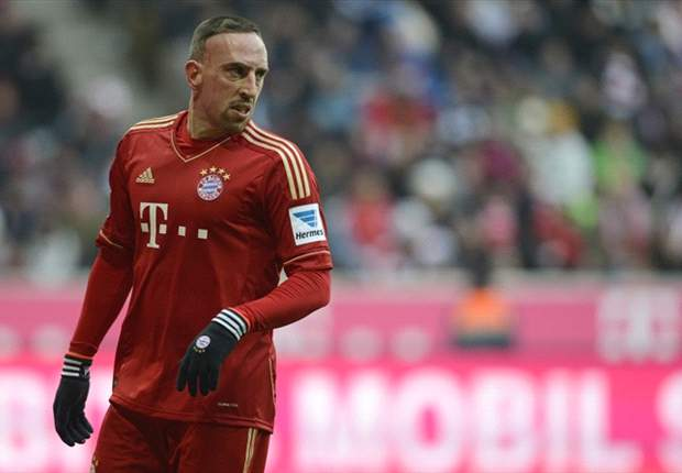 Ribery compara Bayern ao Barcelona e Real Madrid