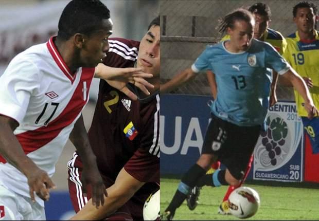 Perú se cruza ante Uruguay en el comienzo del Hexagonal