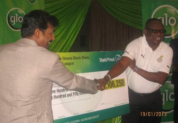 Glo donates over $2.1 million to Ghana Football Association