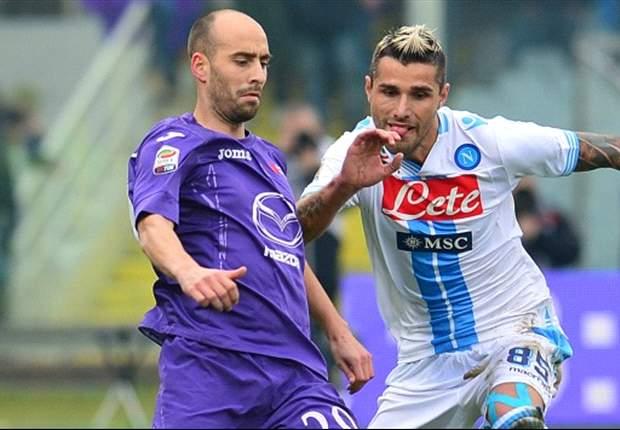 Fiorentina 1-1 Napoli: Cavani cancels out De Sanctis howler