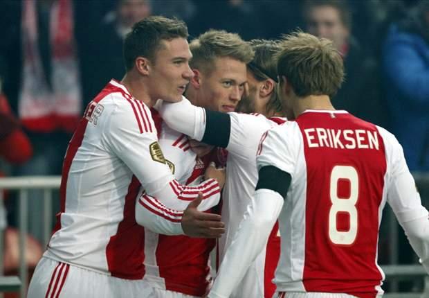 Bungkam Feyenoord, Ajax Amsterdam Pepet PSV Eindhoven