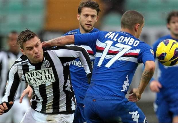 Imprevisto in casa Sampdoria dopo il pari col Torino: colica renale per Palombo
