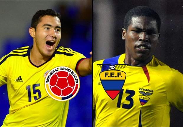 Colombia por el sueño ante Ecuador