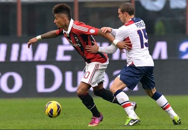 AC Mailand gewinnt gegen Bologna mit 2:1