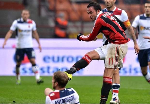 Milan 2-1 Bolonia: Pazzini sentencia en San Siro