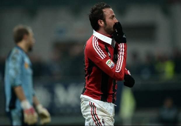 Pazzini bezorgt Milan drie punten