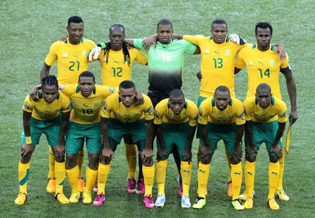 Bafana breaking the tension in Durban training session after nervous start to campaign