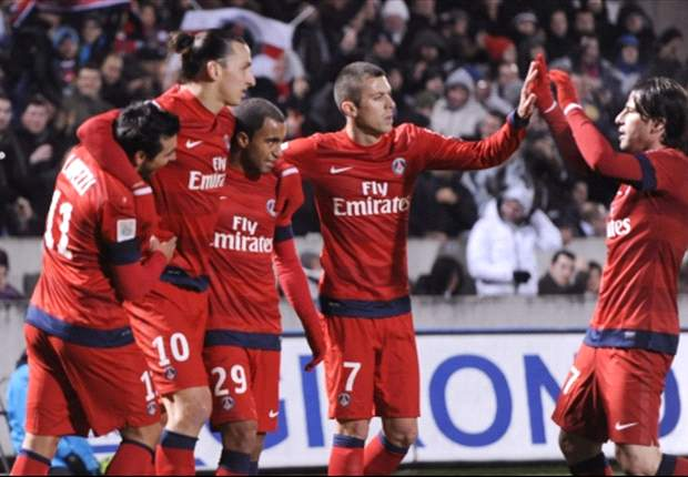 Girondins de Bordeaux 0-1 Paris Saint-Germain: Valuable Ibrahimovic strike sends Ancelotti's side top of Ligue 1