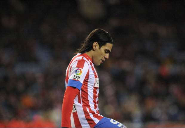 Manchester City & Chelsea target Falcao 'happy and satisfied' at Atletico Madrid