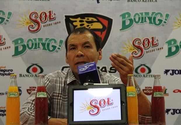 El 'Profe' Cruz asegura que no renunciará al cargo de Jaguares