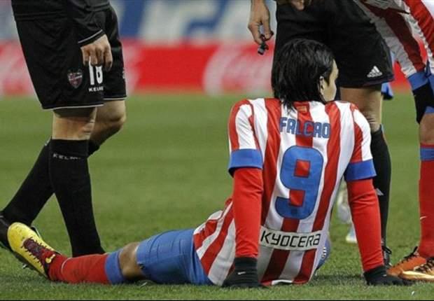 Falcao, fuera de la lista de convocados ante el Sevilla
